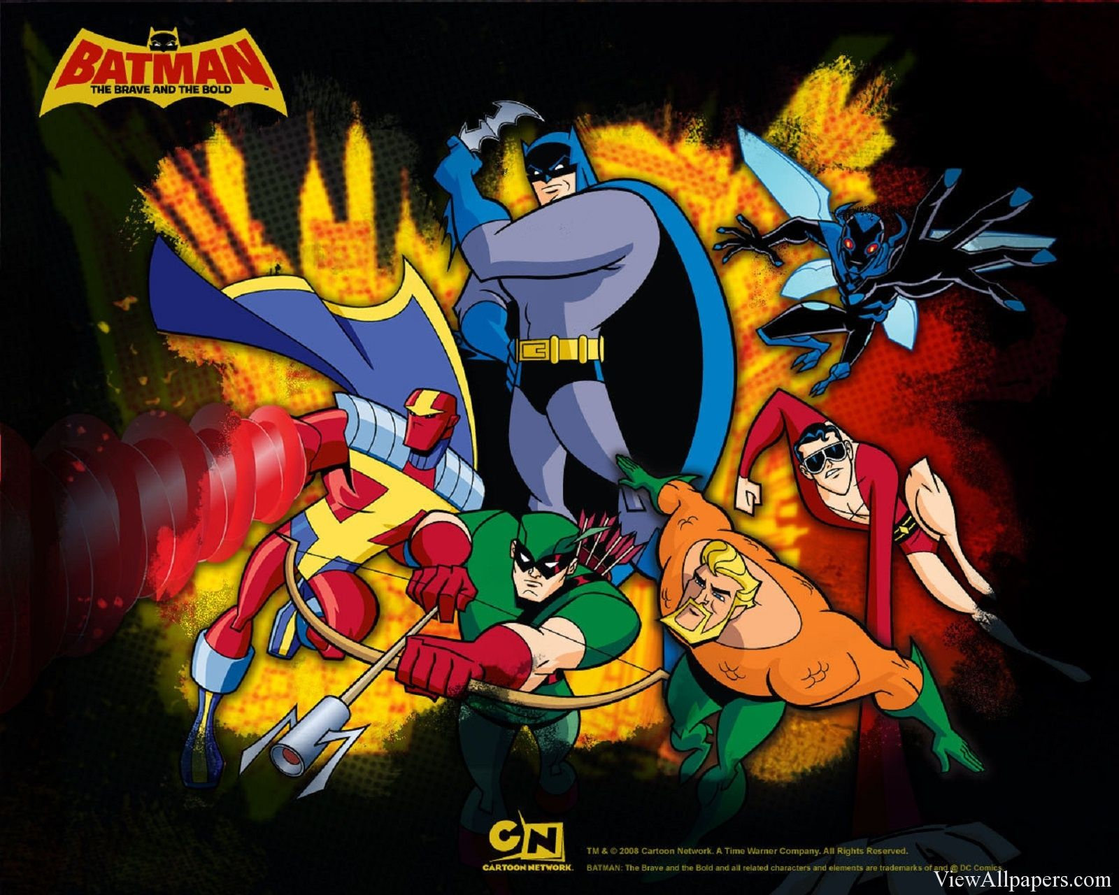 Batman The Brave And The Bold Hd With Images Brave And The