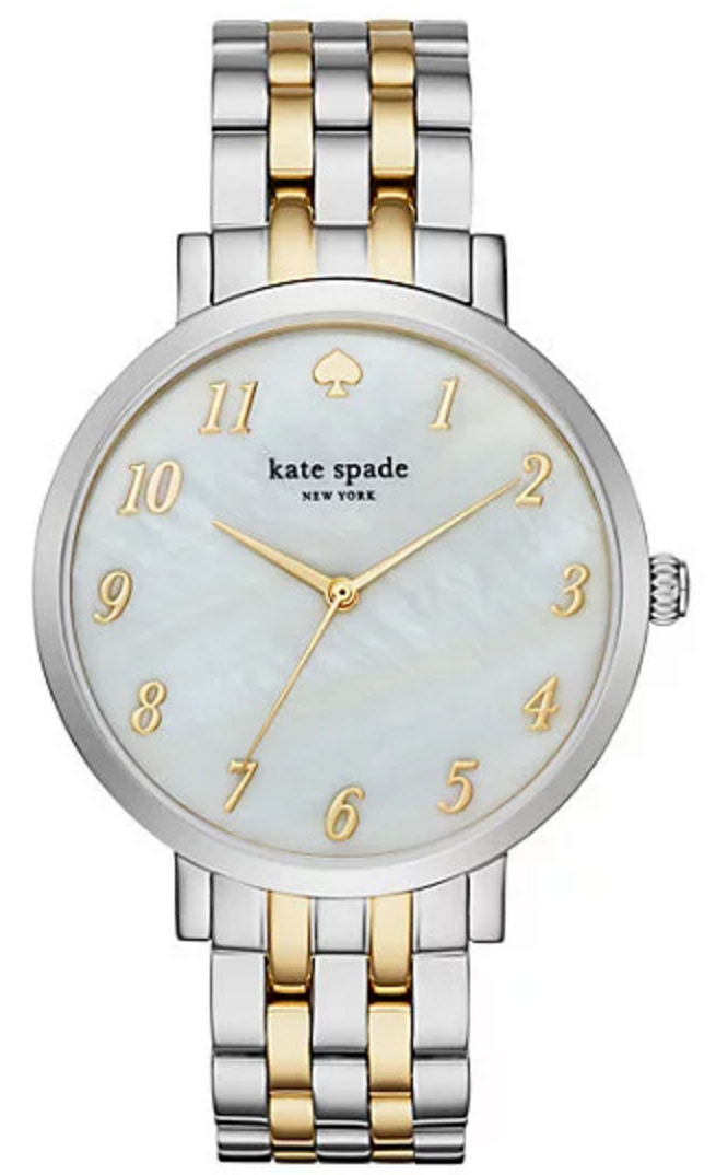 Gorgeous kate spade watch with mother of pearl detailing
