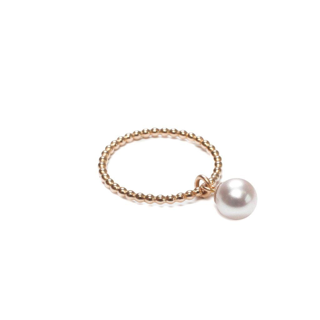 ORA Pearls Sterling Silver Classic White Pearl Bracelet xoAO9l7IA