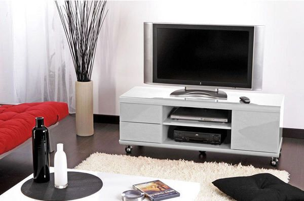 Meuble Tv Jack Blanc Promotion Carrefour Meuble Tv