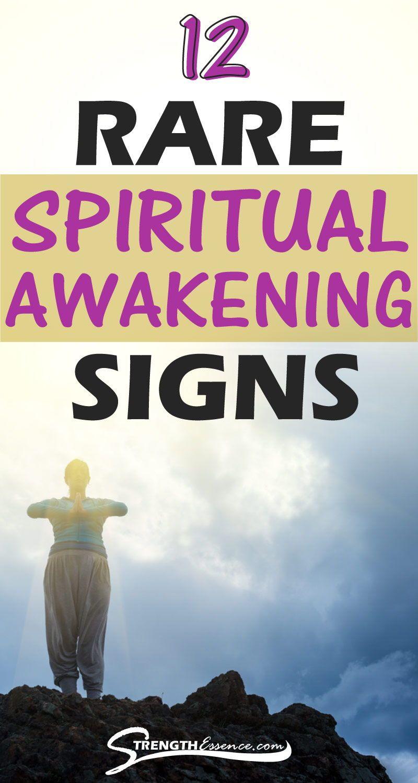 12 Rare & Bizarre Spiritual Awakening Signs