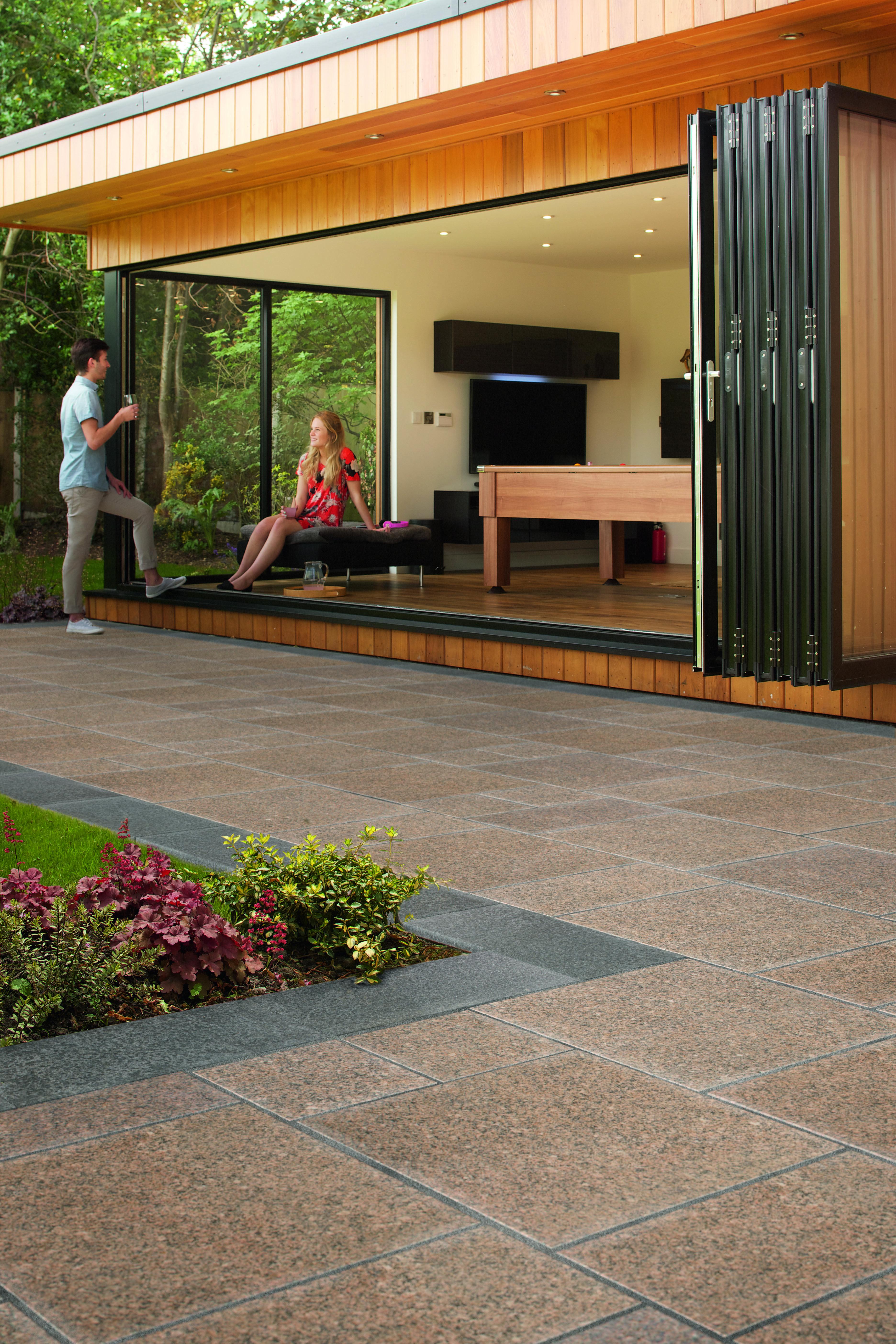 marshalls eclipse granite paving patio ideas for every patio