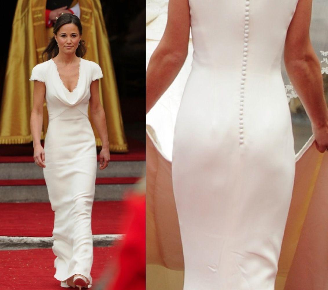 At The Royal Wedding Pippa Middleton S Dress: Pippa Middleton FINALLY Addresses Her Hip-Hugging Royal
