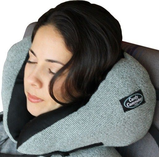 Original Travel Pillow Includes Compression Bag And Side