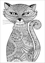 Картинки по запросу раскраска кошки которую можно ...