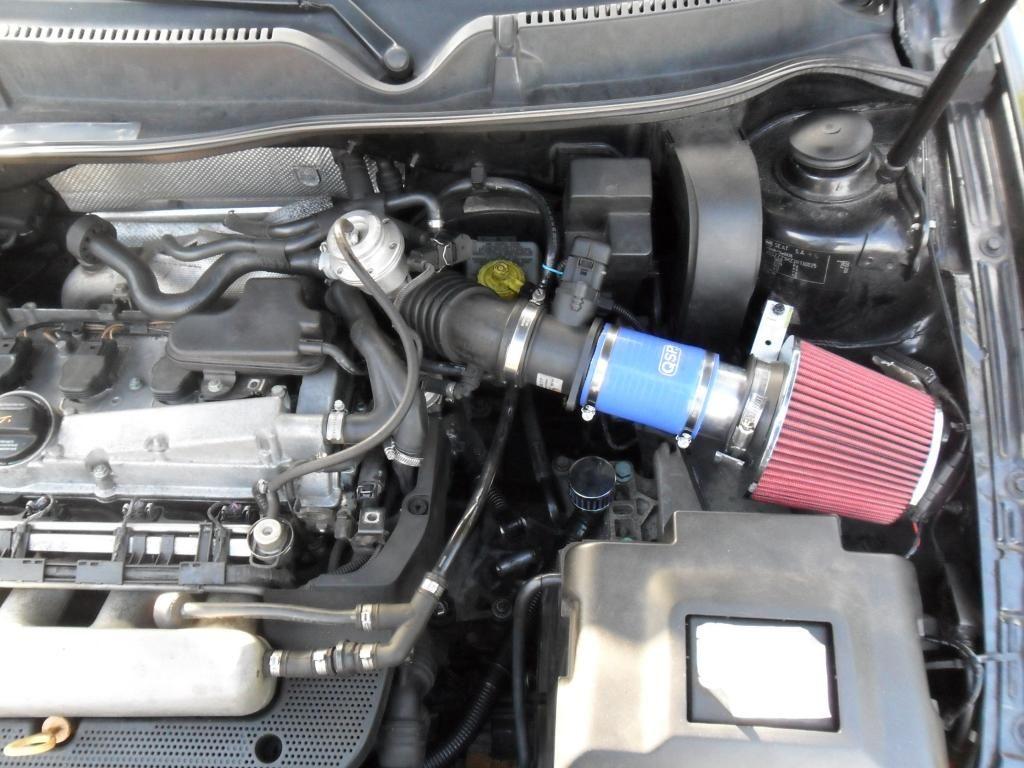 No. 9 Installed open air filter (con imágenes)
