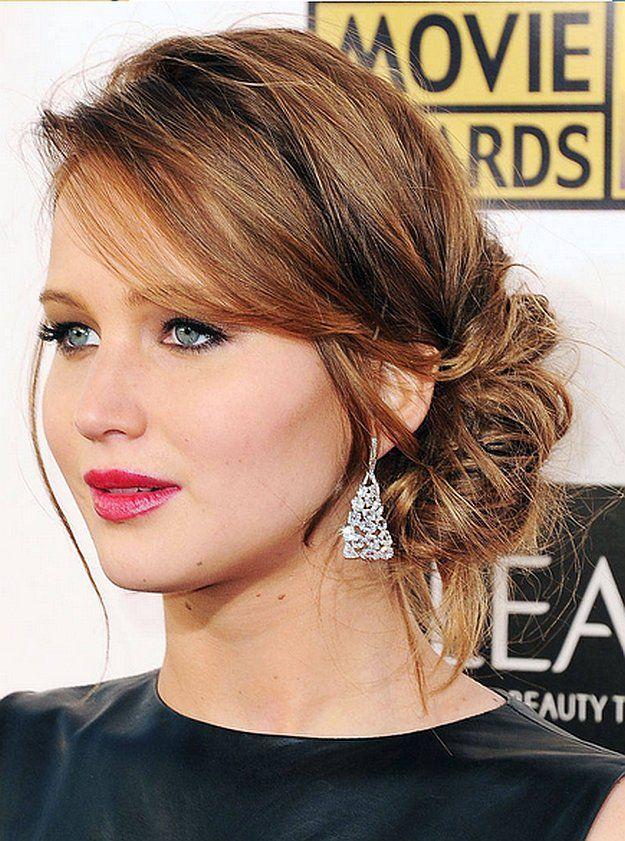 Red Carpet Hair Styles | free hairstyle | Coafuri, Coafuri ...