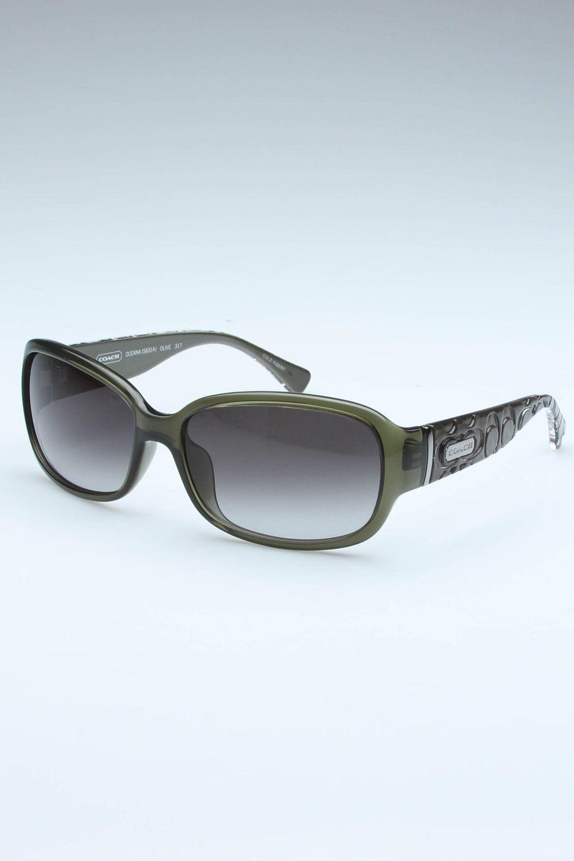 6a3408f8ea ... online 409a4 94d5c  uk coach sunglasses in olive. 571e6 f34b0