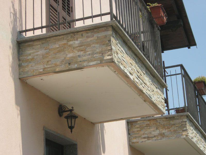 Il rifacimento frontalini balconi è dato a causa di agenti esterni o ...