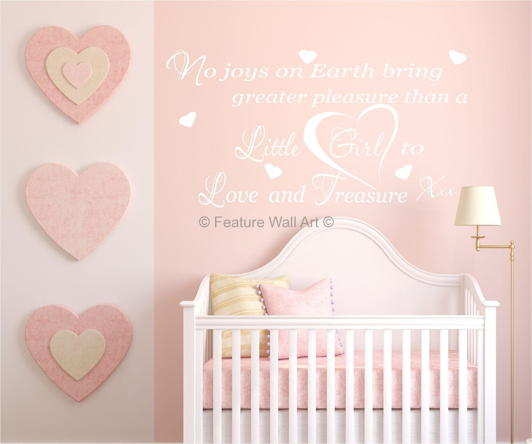 Baby Girl Wall Art Ideas