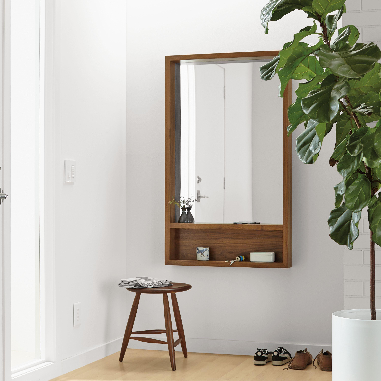 Loft Wall Mirrors with Shelf