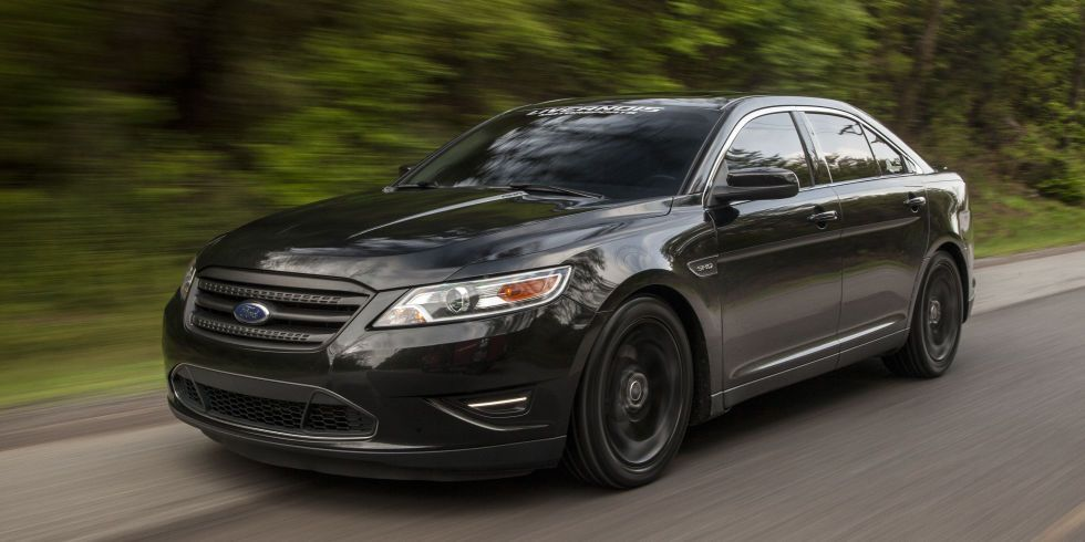 This Is What A 550hp Taurus Looks Like Ford Taurus Sho Taurus Ford Sho
