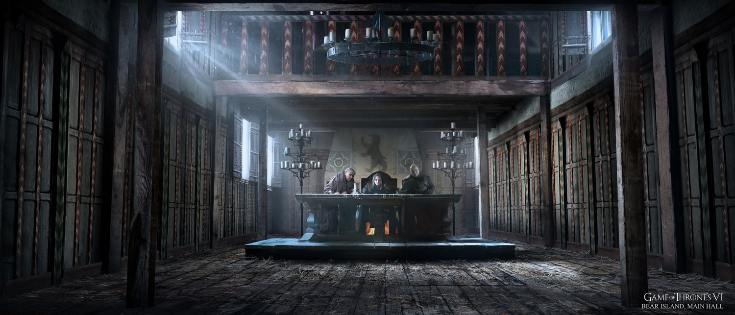 The Concept Art Of Game Of Thrones Season 6 Part 2 Watchers On The Wall A Game Of Thrones