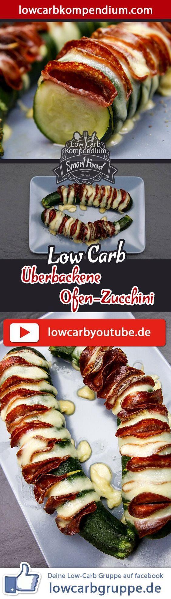 berbackene ofen zucchini low carb knuspriger snack low carb hauptgerichte pinterest. Black Bedroom Furniture Sets. Home Design Ideas