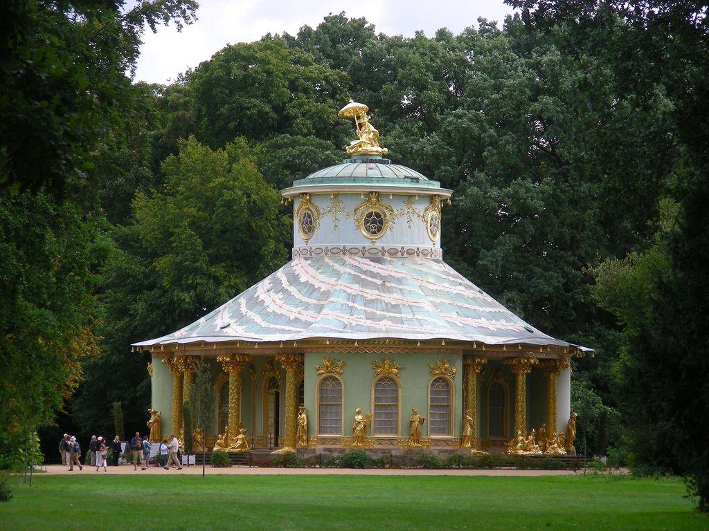 Potsdam Park Sanssouci Outdoor Structures Architecture Gazebo