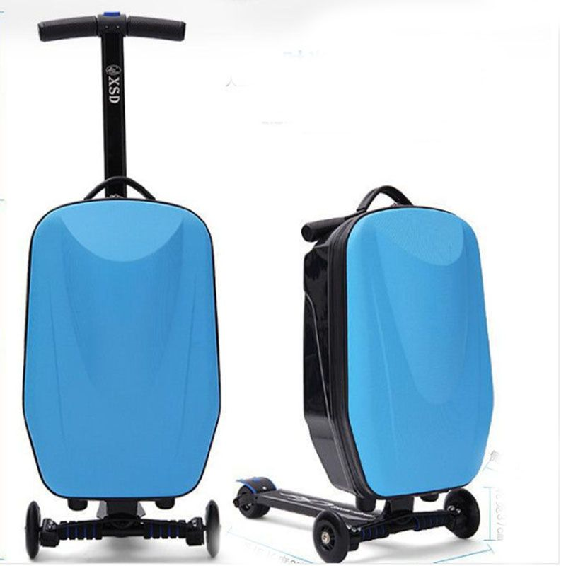 Cheap luggage scooter, Buy Quality style suitcase directly from ...