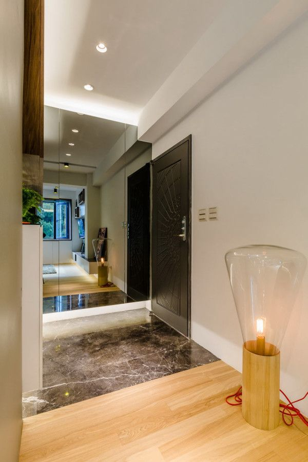 A 40 Year Old Apartment In Taipei Gets A Modern Intervention Luxury Apartments Interior Apartment Renovation Old Apartments