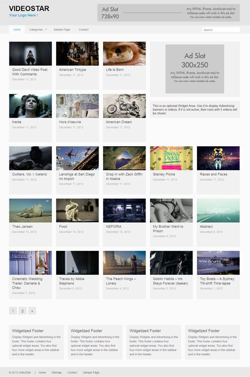 VideoStar Theme Review - RichWP | Best WordPress Themes | Pinterest ...