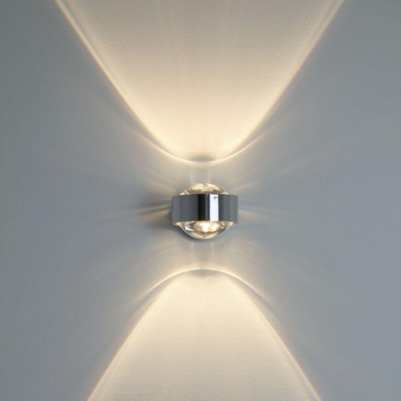 puk wall wandleuchte top light im ikarus design shop zu hause