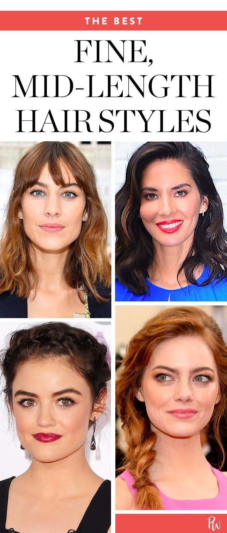 5 Styles That Add Volume to Your Fine, MidLength Hair