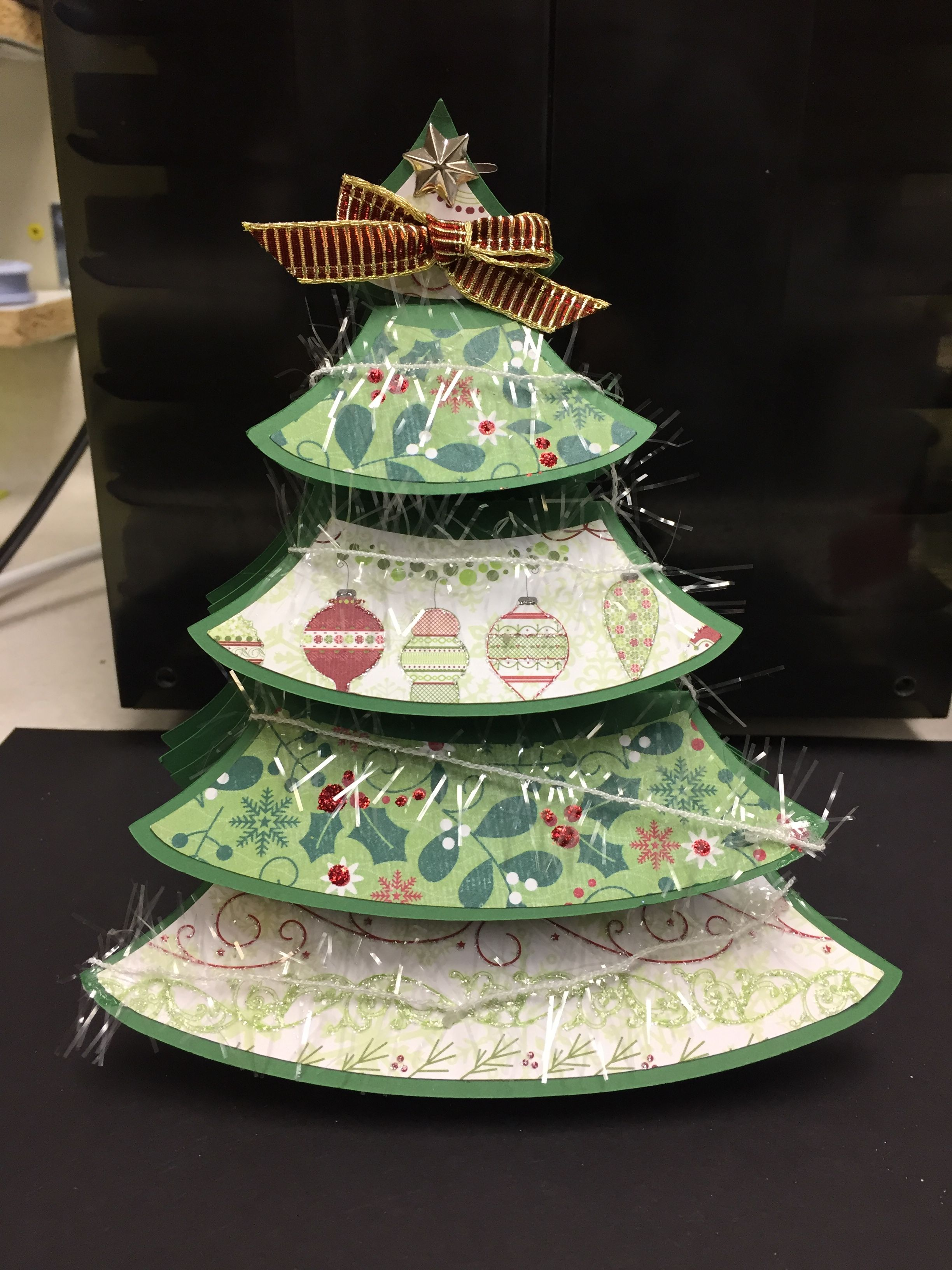 Svgcuts Pop Up Christmas Tree Box Card Cards Pinterest Pop Up