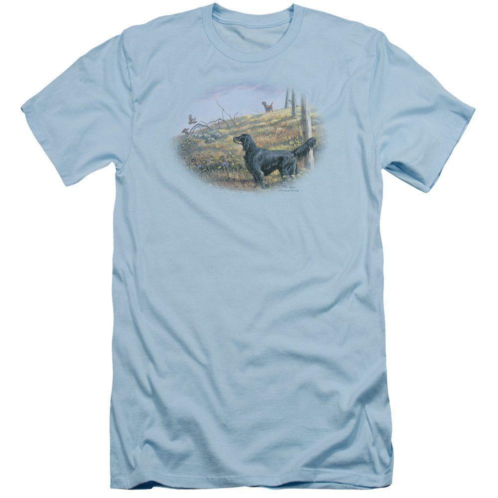 Wild Wings: Looking Back Slim Fit T-Shirt