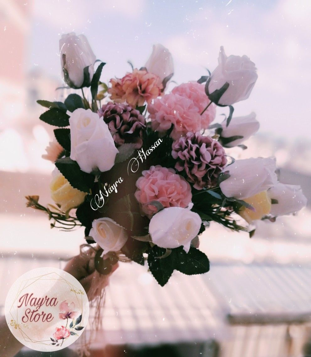 بوكيت ورد Floral Wreath Floral Decor