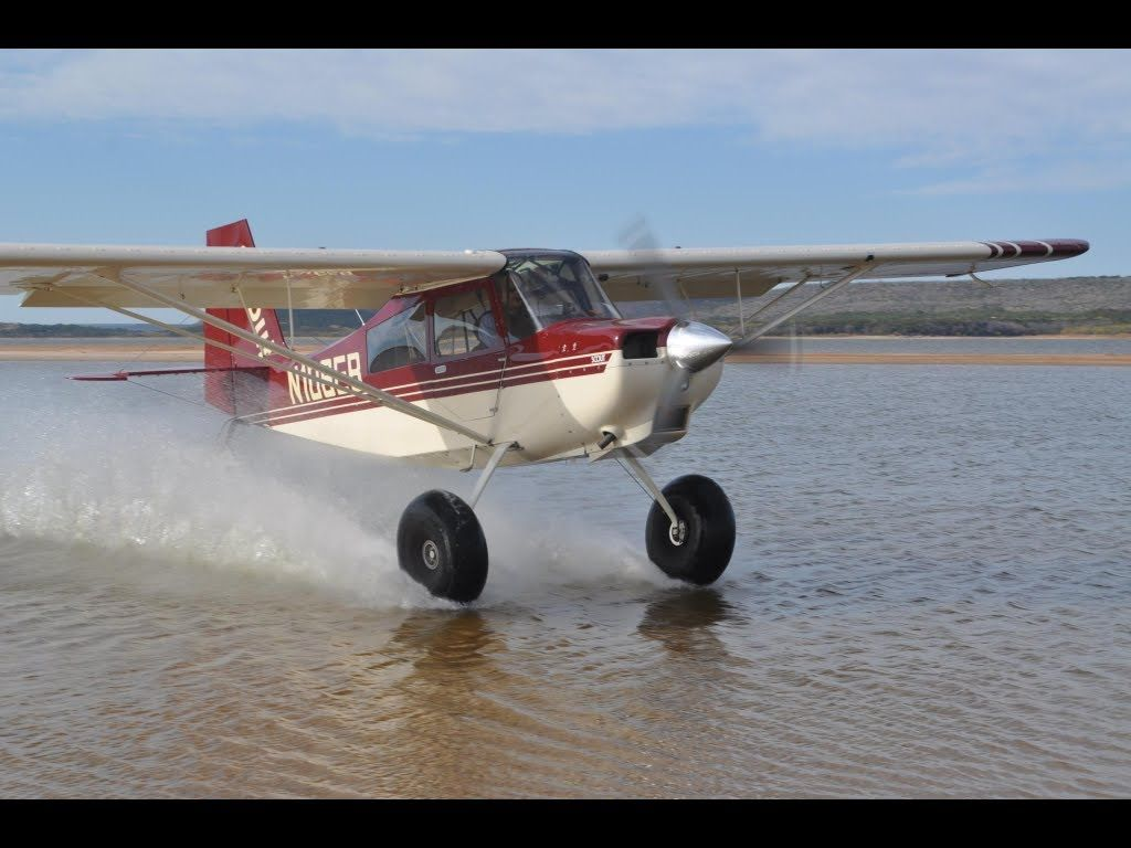 American Champion Super Cub Carbon Water Isted Landing Bush Flying