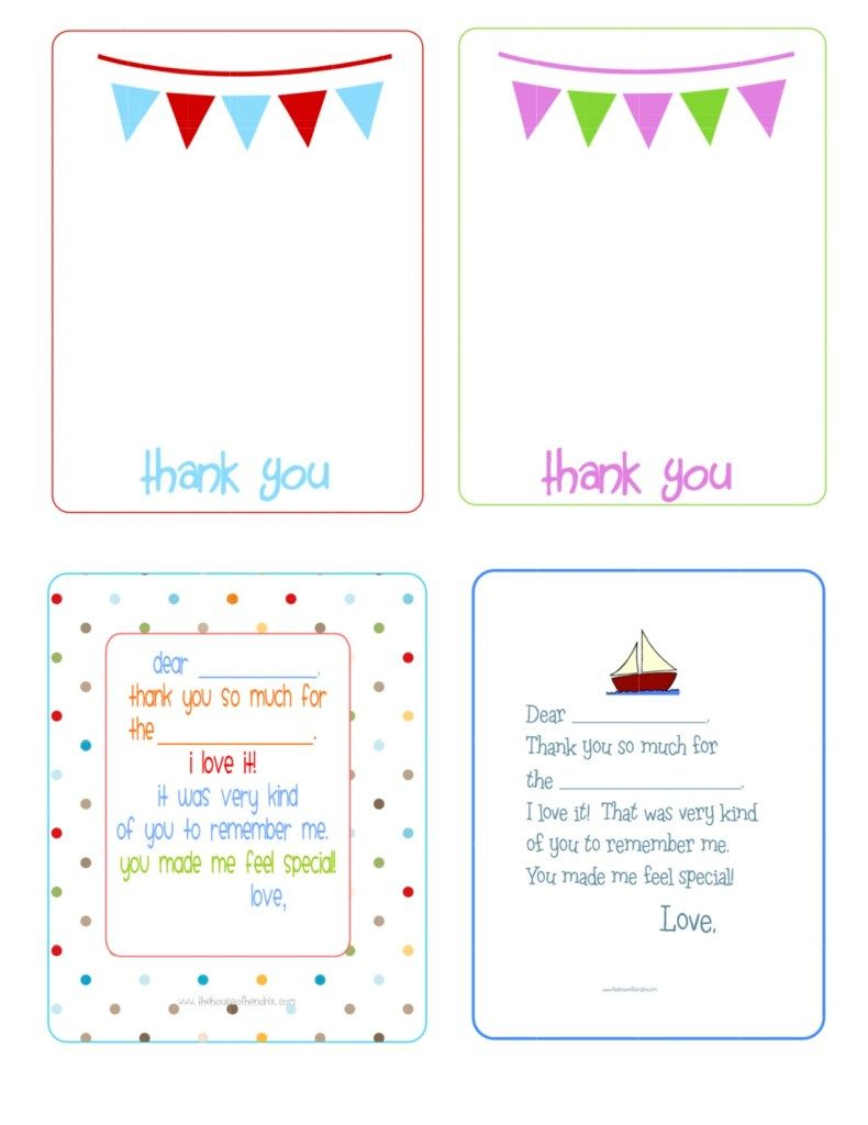 Diy Crafts The House Of Hendrix Printable Note Cards Free Printable Birthday Cards Printable Thank You Cards