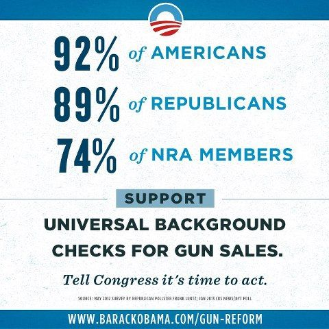 92 Of Americans Support Universal Background Checks For Gun Sales We Will Be Heard UniteBlue