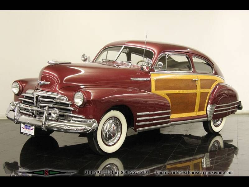1948 Chevrolet Fleetline Woody Grille Chevrolet Old Fashioned