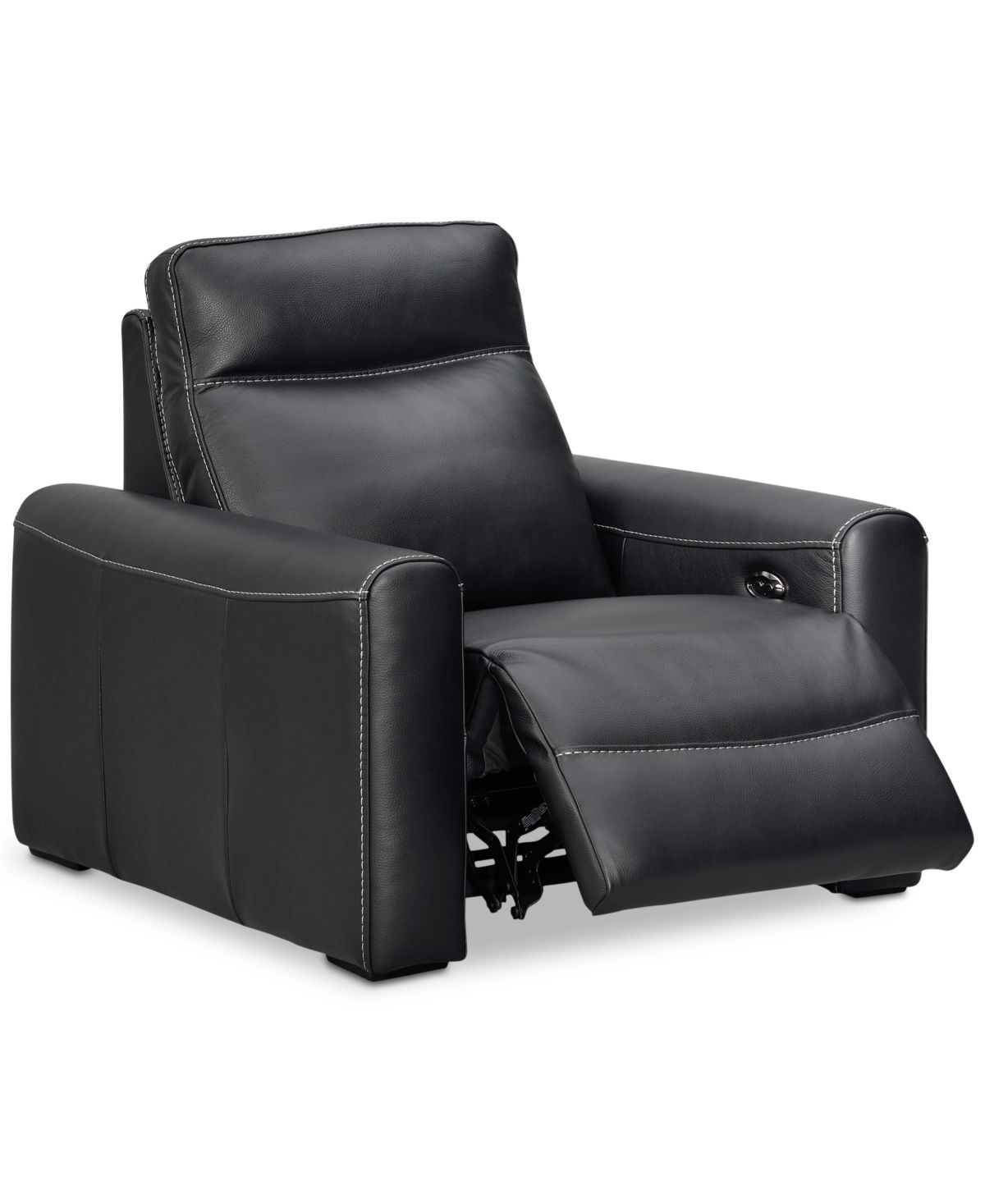 Closeout! Marzia Leather Power Recliner, Created for Macy's