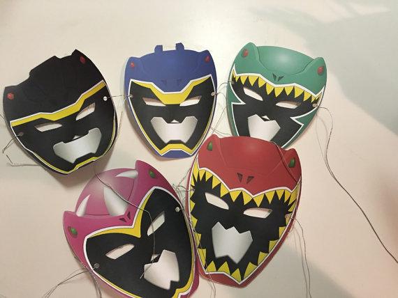 Power ranger masks in 2019 jacobs bday power rangers - Masque de power rangers ...