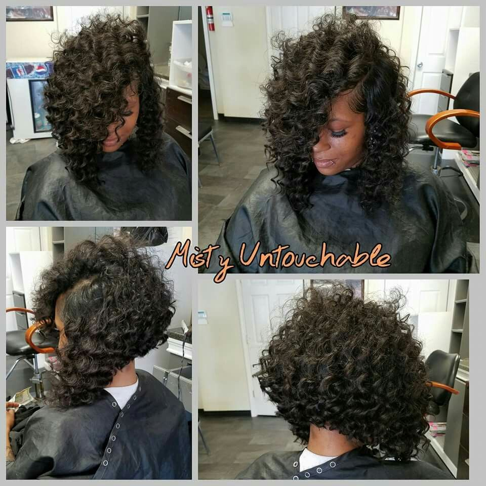 deep wave cut into a bob 12'12inch | hair inspiration