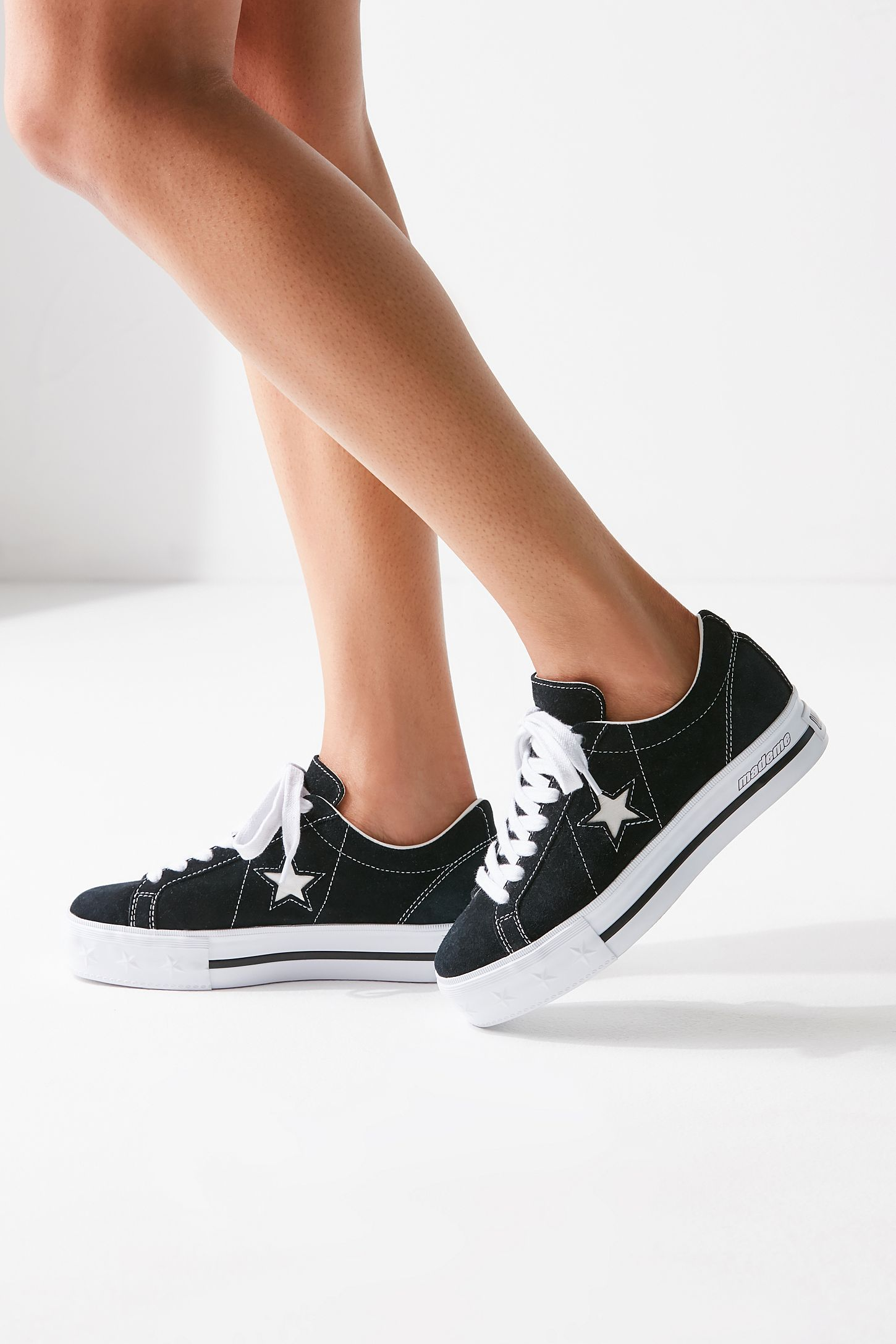 fda2b9aedbbe Slide View  6  Converse One Star X MadeMe Suede Platform Sneaker