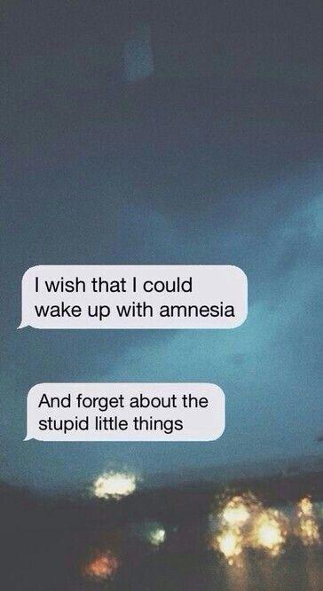 Amnesia 5 Seconds Of Summer Dengan Gambar Kutipan