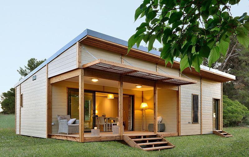 Realisations Chalets Fabre Maison Contemporaine Maison Ossature Bois Plan Maison