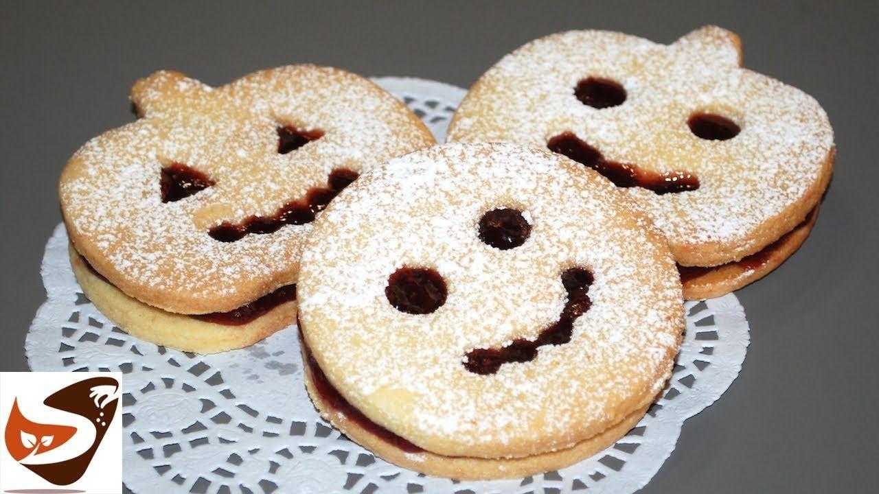 Biscotti di pasta frolla per Halloween Dolcetti per