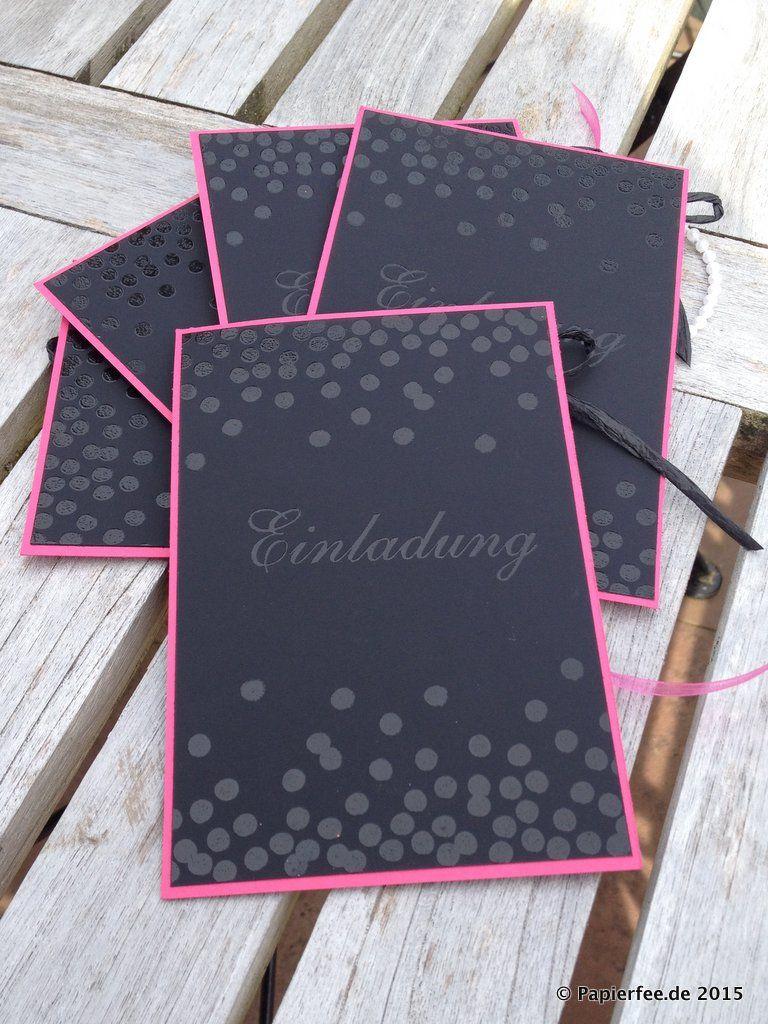 Stampin 39 up einladung ladies night tafelpapier for Tafel papier