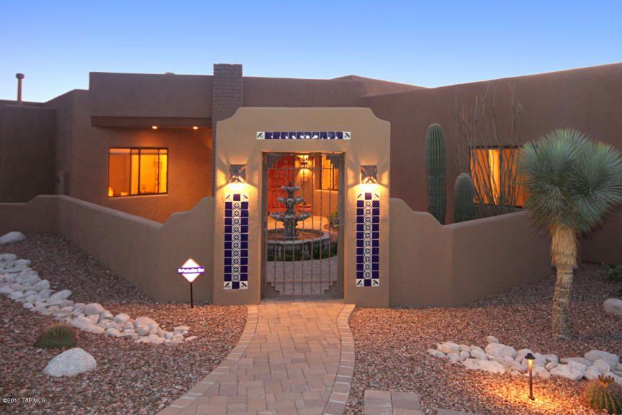 Santa Fe Style Home Arizona Quail Canyon Santa Fe Style