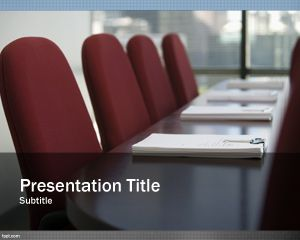 Free Business Planning PowerPoint Template for online meetings and ...