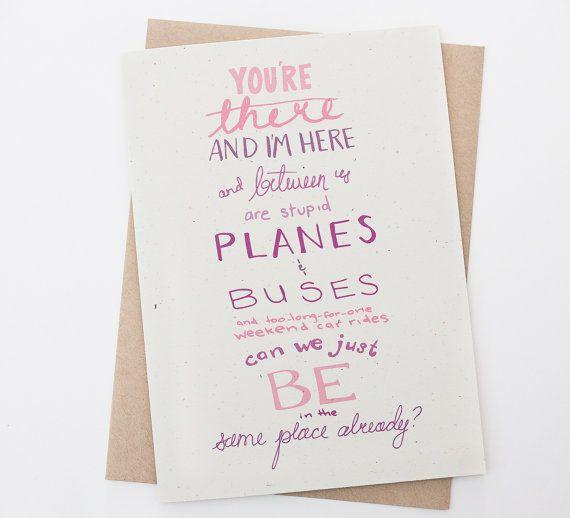 long distance relationship planes buses long distance