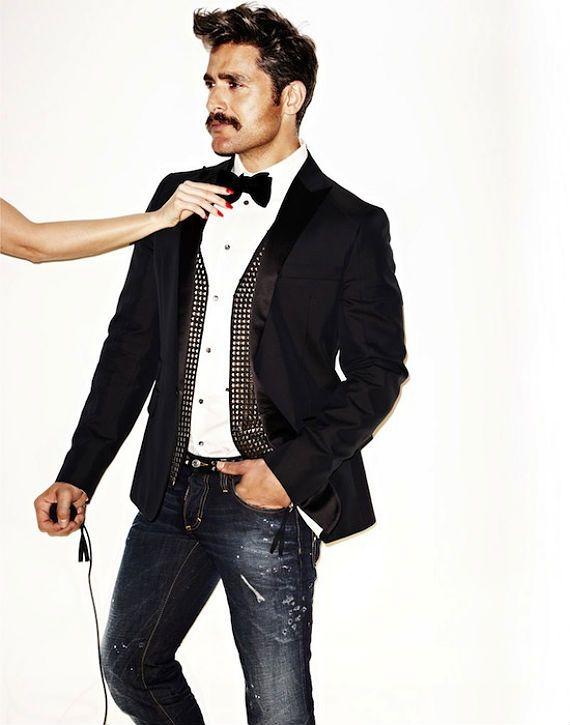 looks smoking roupas casuais masculino6 Smoking Masculino c668d97832b