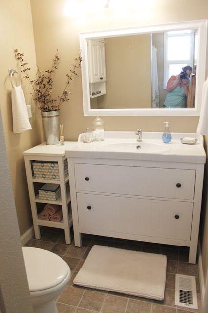 Bebe A La Mode Designs Master Bath Reveal Bathroom Decor Ikea Bathroom Trendy Bathroom