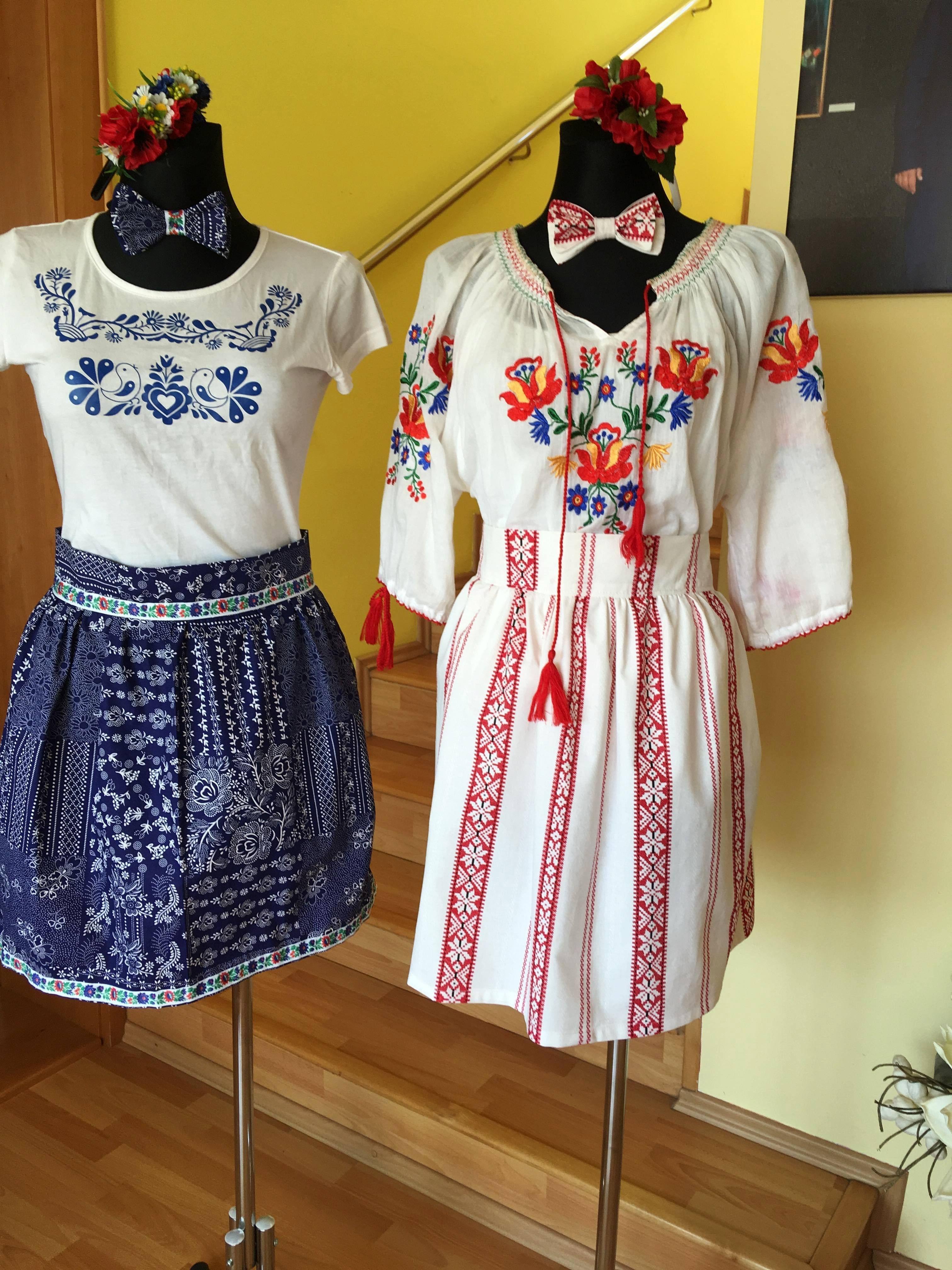 57f1e1e2e198 Krásne a kvalitné folklórne sukne s ľudovým vzorom z našich látok ...