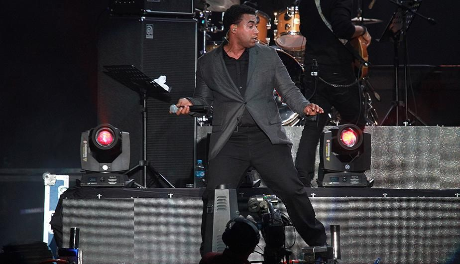 Don Omar no defraudó a sus fanáticos y cantó sus mejores éxitos.