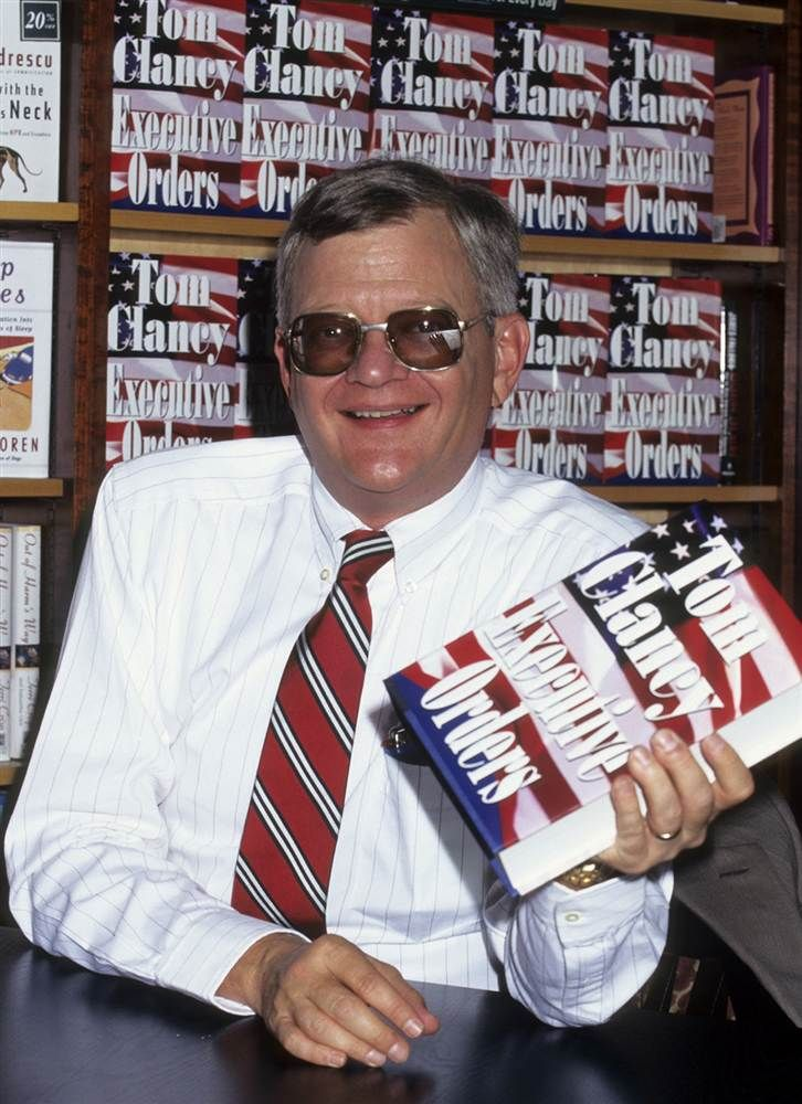 "Tom Clancy, the prolific author of military thrillers that turned into box office gold with films such as ""The Hunt for Red October"" and Cle..."
