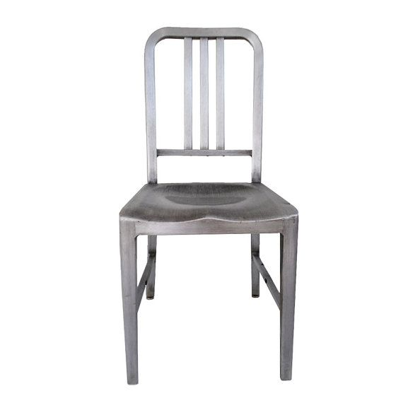 Goodform Good Form Aluminum Industrial Chair By Midmoderngoods