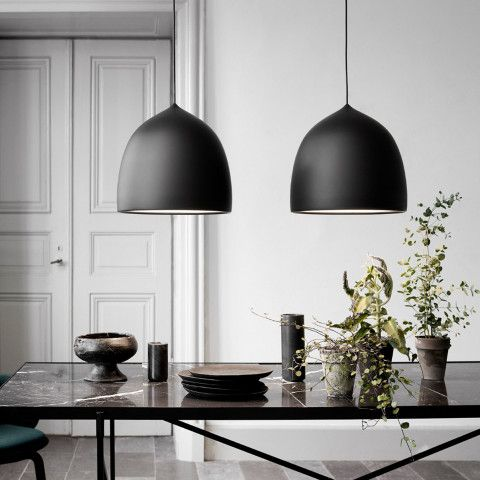 suspence pendelleuchte von fritz hansen bei living pinterest schwarzer. Black Bedroom Furniture Sets. Home Design Ideas