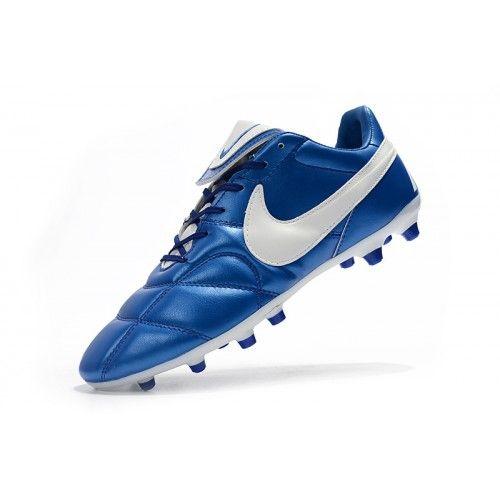 premium selection a93a6 76821 Nike Premier II 2.0 FG Blå Hvit Fotballsko